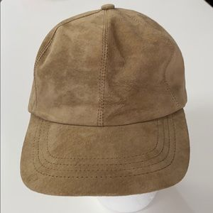 Suede Baseball Cap Vintage Union Made USA